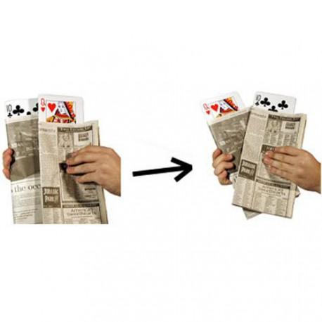 Newspaper Card Change