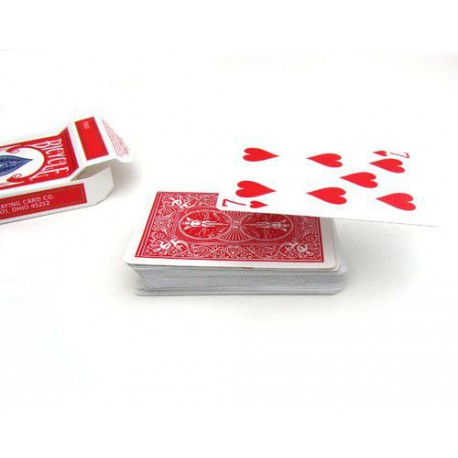 Card Float Bicyle Red back Gimmick