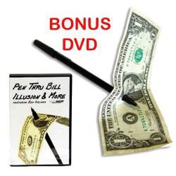 Pen Thru Bill & DVD Pen Thru Bill