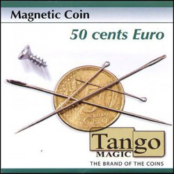 Magnetic Coin 50 cent Euro by Tango