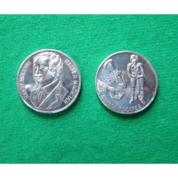 2 Houdini Palming & Collector Coins