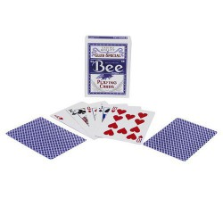 Bee Blue Playing cards Club Special
