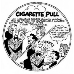 Safe Cigarette pull