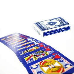 Bicycle Blue Ice Deck