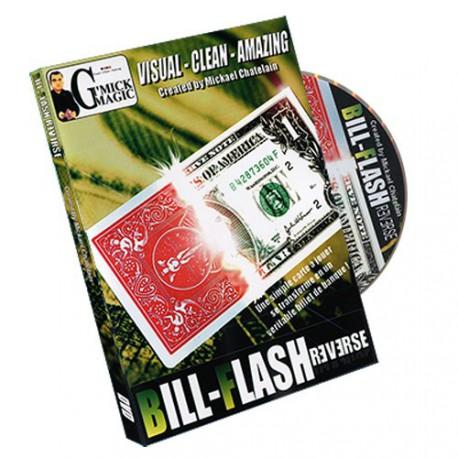 Bill Flash Card REVERSE de Mickael CHATELAIN