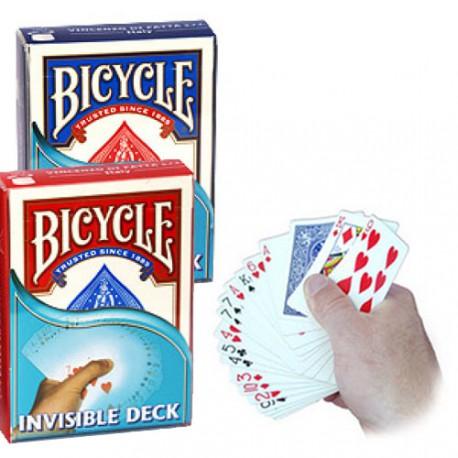 Le jeu Invisible Qualité Cartes Bicycle