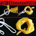 Le Foulard Traverse Une Corde