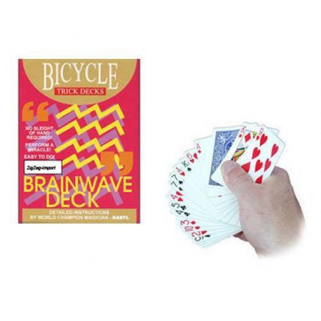 Brainwave Deck - Bicyle Red Back